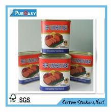 Custom high quality beef jerky label