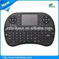 Baratos 2.4g 10m mini tecladoinalámbrico de ratón combo con el touchpad mini- teclado qwerty, multimedia, de juegos de pc de control de llaves