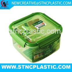 Attractive design plastic food storage box 1.6L