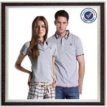 95% 5% de algodón del spandex camisetas t