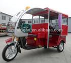 three wheel battery rickshaw for Bangladesh passengers