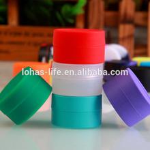 Food grade durable non-stick butane hash oil silicone container