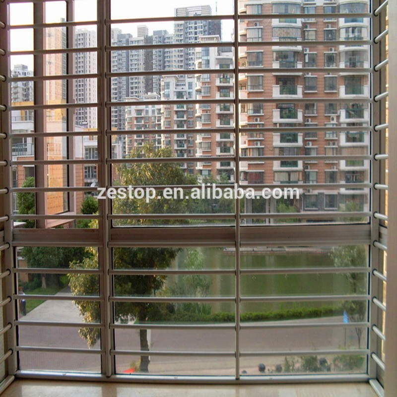 clear double glass decorative window security bars buy
