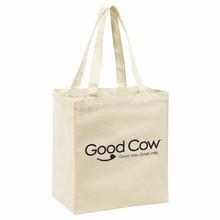 nature green organic cotton tote bag