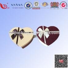 heart-shape and beautiful gift/candy box ,custom colorful gift box