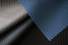 TR stripe suit fabric for spring collection