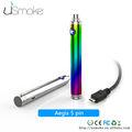 corea mejor venta 1300 mah usmoke aegis cigarrillo electrónico de nuevos productos de tecnología