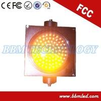 200mm yellow signal traffic light