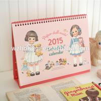 2015 Custom Calendar Printing /Table Calendar /Desk Calendar Printing