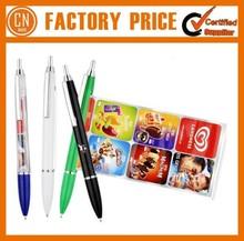 Cheap Logo Custom Promotional Plastic Banner Pen