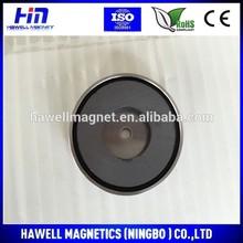 ISO Certified pot holding magnets / ferrite Holding Magnet