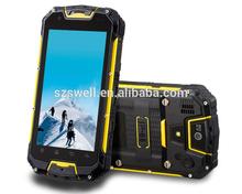 M8 MTK 6589 IP68 waterproof 4.5 inch walkie talkie PTT 5 KM quad core android 4.2.2 rugged smartphone M8