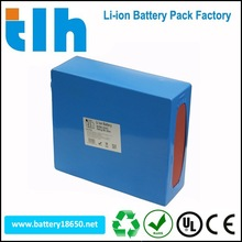 High capacity 36v 20ah li-ion battery pack for machine