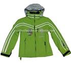 waterproof light color children snow ski coat girl breathable jacket