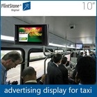 Flintstone 10 inch bus roof mounted lcd monitor timer innovative equipment portable dvd player for car
