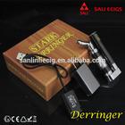 2015 SALI ECIG best selling CF Atomizer Battery eGo thread Pocketable Starter Kit Touch Dual Coil ecig mini box mod