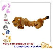 China custom factory stuffed dog animal plush toy plush boat pet dog bed