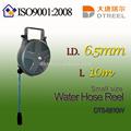 I. D. L 6.5mm 10m dts-6810w tamaño pequeño de agua de la manguera del carrete de manguera de jardín carrete hidráulico herramienta