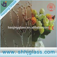 4mm,5mm Spring Dragon pattern figured glass
