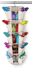 Smart Carousel Organizer, Shoe/Sweater/Bag, Beige, 5-Tier, Patented