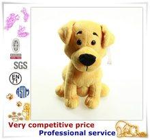 China custom factory stuffed dog animal plush toy plush dog clothes