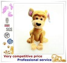 China custom factory stuffed dog animal plush toy plush dog house