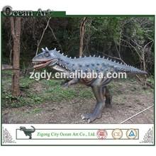 Life-like custom simulation plastic dinosaur figures