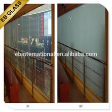 selfadhesive smart pdlc film ,Opaque treatment pdlc material film tinting EB GLASS BRAND