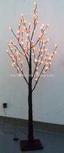 pink cherry indoor home decorative artificial tree