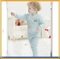 Venta al por mayor caliente de europa y américa de la venta ropa de dormir del bebé de franela de algodón pijamas pijamas de los cabritos