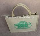 Custom canvas bag jute cheap