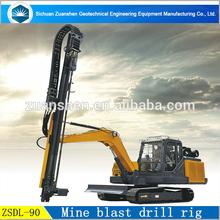 Mining use Rock drill rig