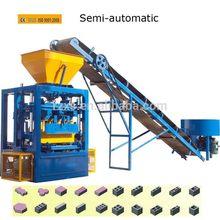 Excellent quality hot sell semi -automatic concrete block machine