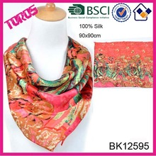 Silk Scarf Wholesale China, Lady Scarf, Scarf Silk