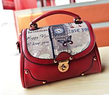 Korean new trend bowknot women PU bags 2015 alibaba supplier fashion handbag