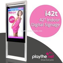 indoor 42 inch public merchandising oriented digital signage, display screen in shopping center