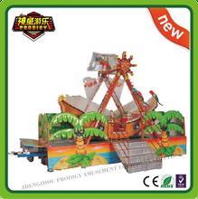 Amusement park Swing rides Mini pirate ship kids rides for sale