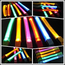 Top quality colorful running outdoor safety flashing LED arm bands