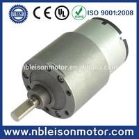 37mm 12v 24v low rpm dc gear motor