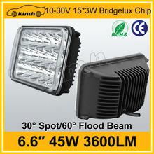 Super bright car accessory 24v 45W tractor led worklight