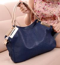 Fancy style women famous brand PU handbag 2015 hot selling girls shoulder handbags