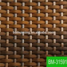 Mixed Colour Waterproof Plastic Wicker of Garden Furniture