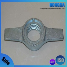 Scaffolding Jack Base and U-Head Casting Wing Nut