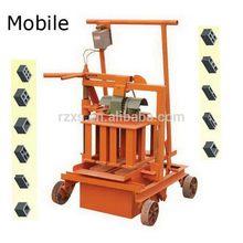 Super quality hot selling mobile machine concrete block usa