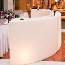 pub table LED lighting bar furniture LED table round bar table