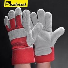 Leather gloves,welding gloves,leather working gloves FL-1020R