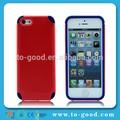 Ucuz cep telefonu kasayıiphone 5s, ürünleri silikoniphone 5 durumda( kırmızı)