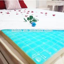 cooling mattress in summer /gel mattress topper/gel cooled mattress