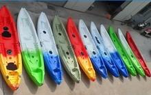 3 seat kayak / plastic kayak mold / touring kayak with 4 flush rod holder