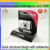 Acrylic digital mobile phone camera stand display